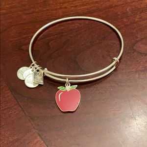 Alex and Ani Apple Bangle bracelet.